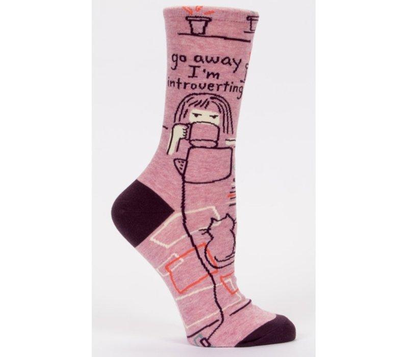 Dames sokken - Go away introverting
