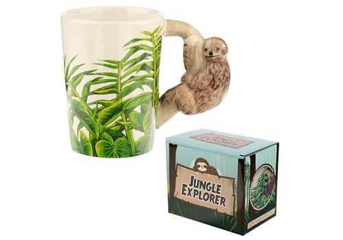 Puckator Jungle luiaard mok