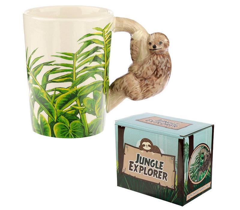 Jungle luiaard mok