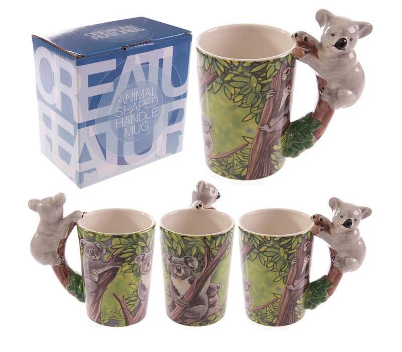 Mok met koala handvat