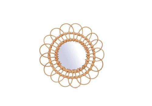 Sass & Belle Rattan Mirror Medium