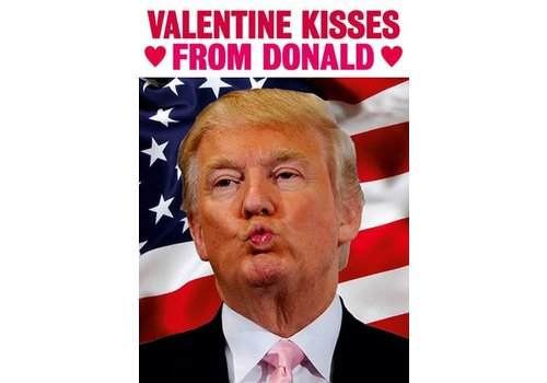 Valentine Kisses from Donald