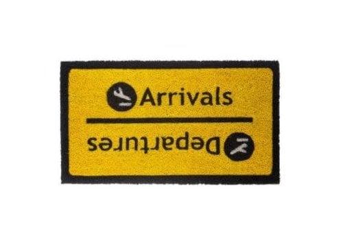 Fisura Binnen deurmat arrivals departures