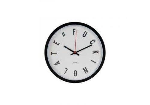 Fisura Fucking late clock white