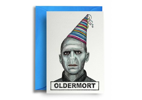 Quite Good Cards Oldermort