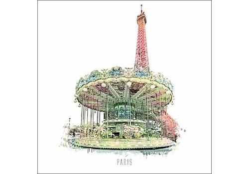 "Ben Kleyn Paris -€"" Vintage 30x30"