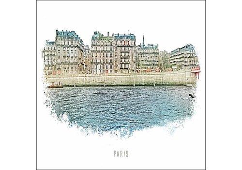 "Ben Kleyn Paris 2 -€"" Vintage 30x30"