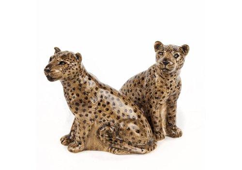 Quail Designs Zout en peper set Luipaard
