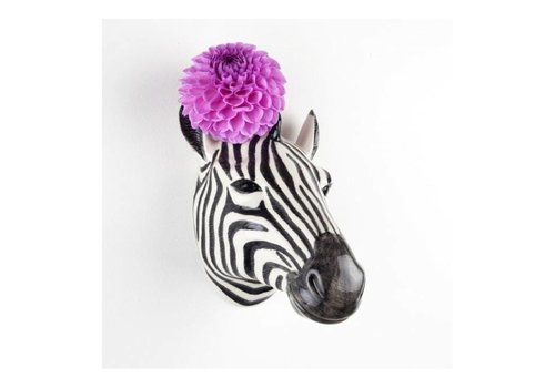 Quail Designs Wandvaas Zebra