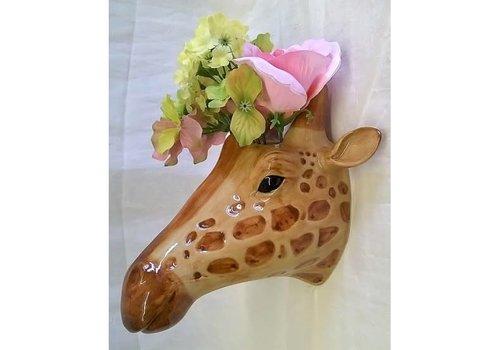 Quail Designs Wandvaas Giraf