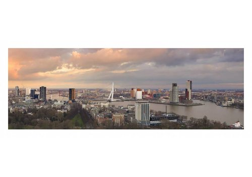 Oorthuis fotografie Pink sky | Rotterdam skyline