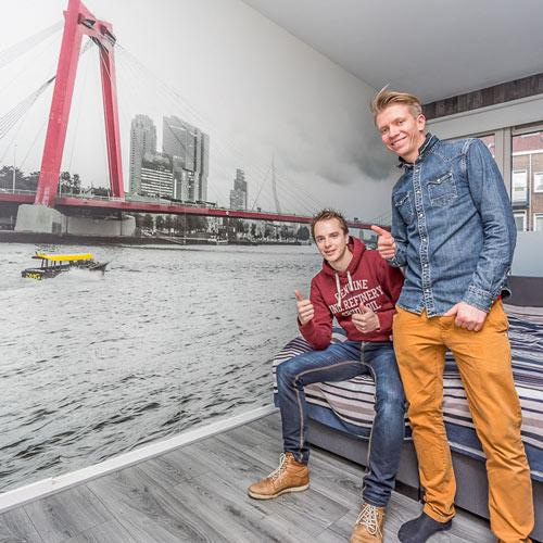 Frank en Milan van Prachtig Rotterdam
