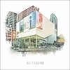 Ben Kleyn Rotterdam poster | Pathe Imax   Vintage poster | 30x30