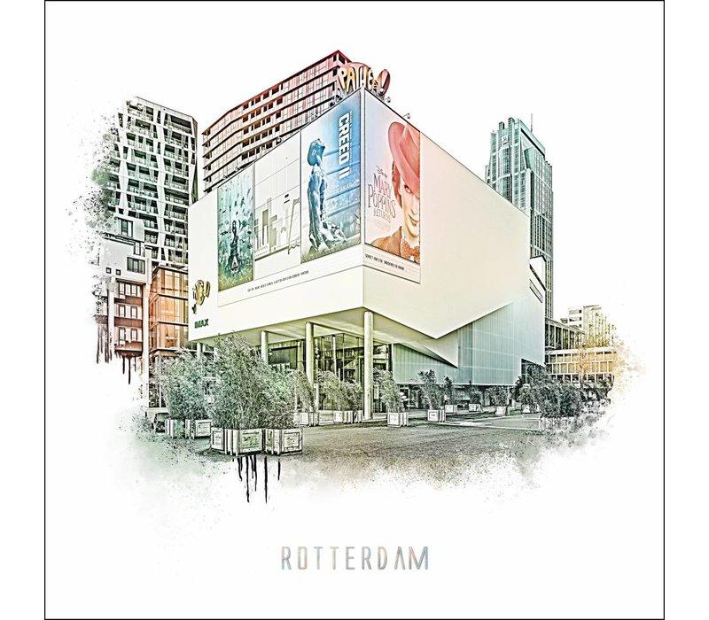 Rotterdam poster | Pathe Imax   Vintage poster | 30x30