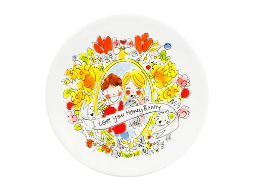 BLOND AMSTERDAM Easter plate 22 cm I love you