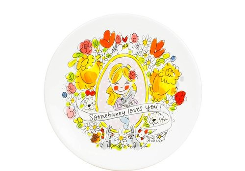 BLOND AMSTERDAM Easter plate 22 cm Somebunny