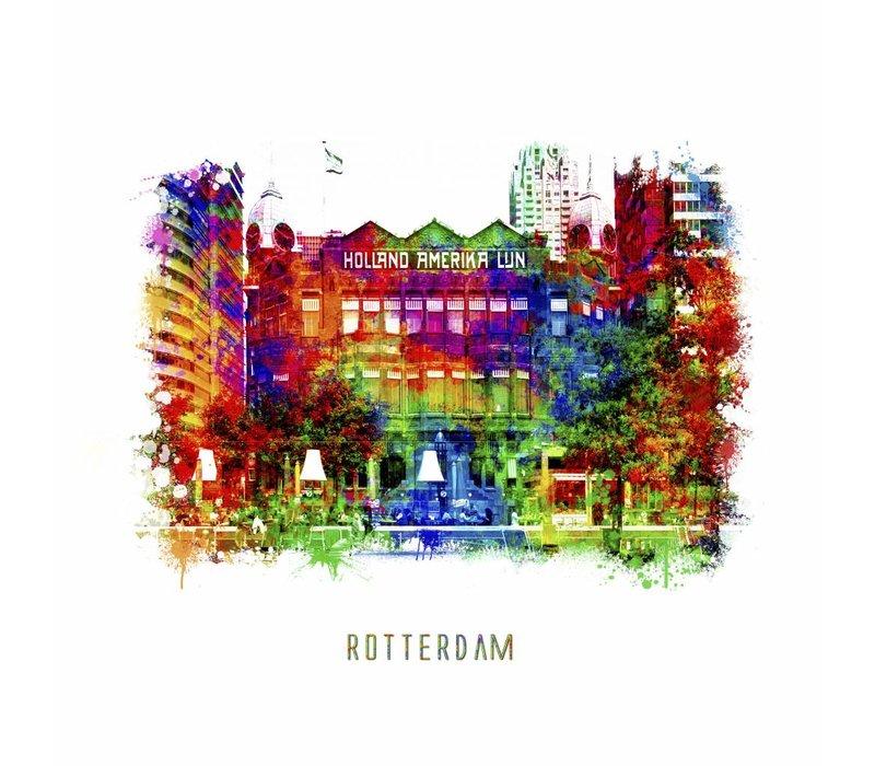 Rotterdam poster | Hotel New York | Pop art poster | 30x30