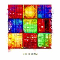 Container - Pop art poster 30x30