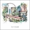 Ben Kleyn Rotterdam poster | Koopgoot | vintage poster | 30x30