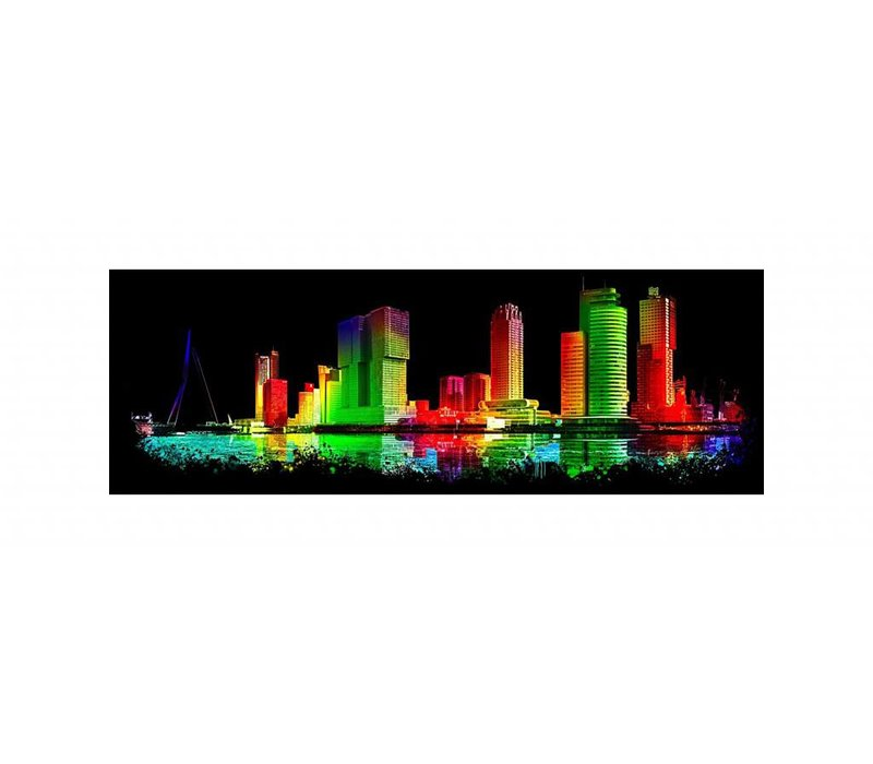 Rotterdam skyline Black edition