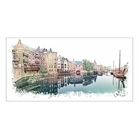 Rotterdam Delfshaven vintage