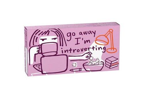 Cortina Kauwgom - Go Away I'm Introverting