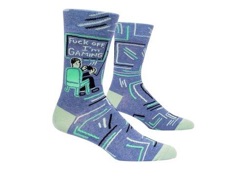 Cortina Men Socks - Fuck off I'm Gaming