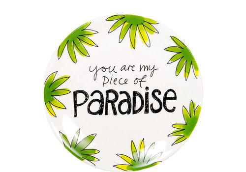 BLOND AMSTERDAM Plate 18cm Paradise