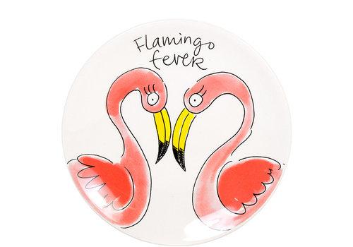 BLOND AMSTERDAM Plate 18cm Flamingo
