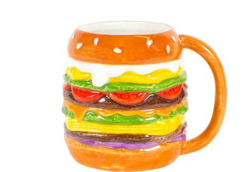 BLOND AMSTERDAM Hamburger 3D mug