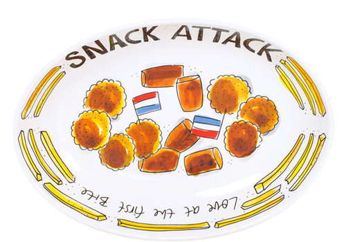 BLOND AMSTERDAM Snack oval bowl 28,5cm