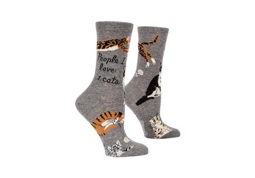 Cortina Women Socks - People I Love: Cats