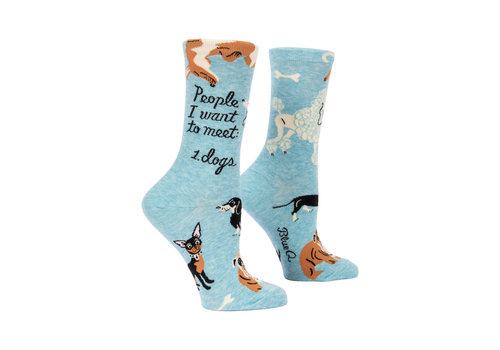 Cortina Dames sokken - People To Meet: Dogs
