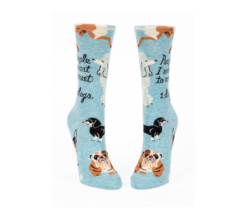 Dames sokken - People To Meet: Dogs