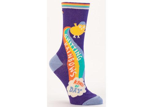 Cortina Women Socks - Shitting Rainbows