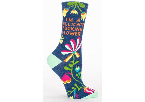 Cortina Socks - Delicate Fucking Flower