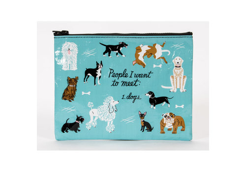 Cortina Zipper Pouch - People To Meet Dogs