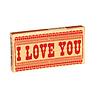 Cortina Kauwgom - I Love You