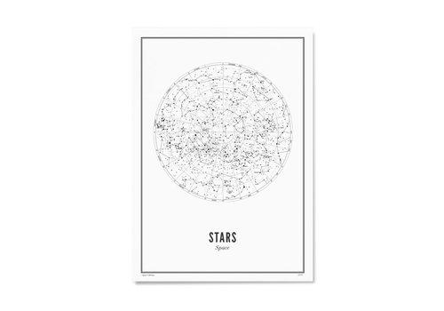 Wijck 30x40 Poster Stars White