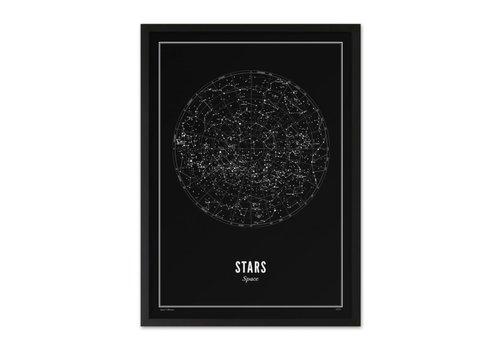 Wijck 30x40 Poster Stars Black