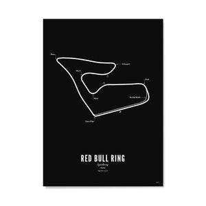 Wijck Poster 30x40 - Circuit Spielberg zwart