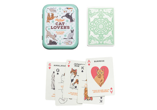 Wild & Wolf Cat Lovers Playing Cards