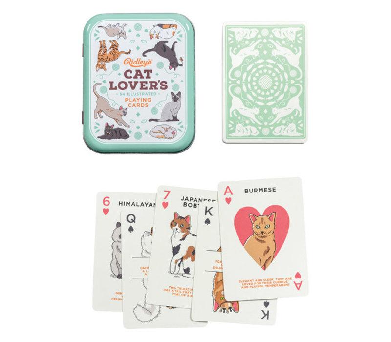 Cat Lovers Playing Cards - Speelkaarten  Katten