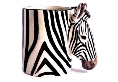 Quail Designs Potloden potje Zebra