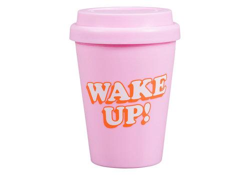 Cortina Small Travel Mug Wake Up