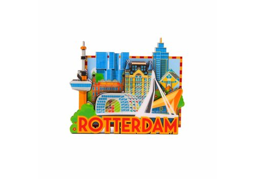 Matix Magneet Rotterdam Skyline