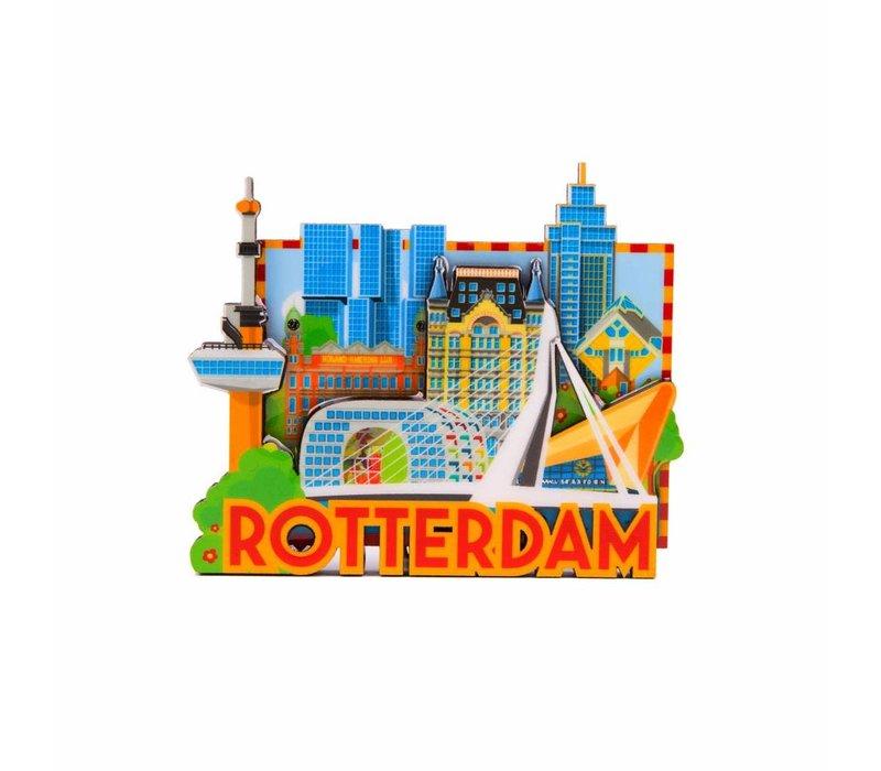 Magneet Rotterdam Skyline