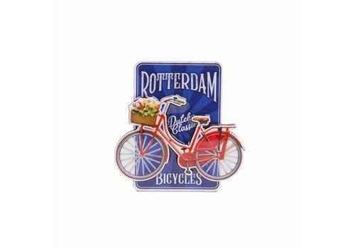 Matix Magneet Fiets Blauw Rotterdam
