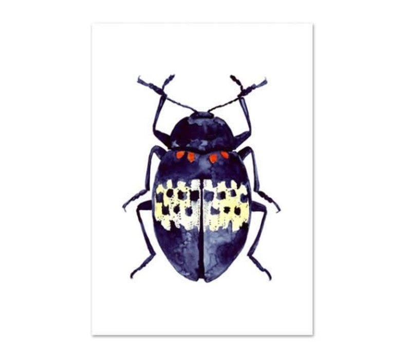 Artprint A4 - Blue Beetle