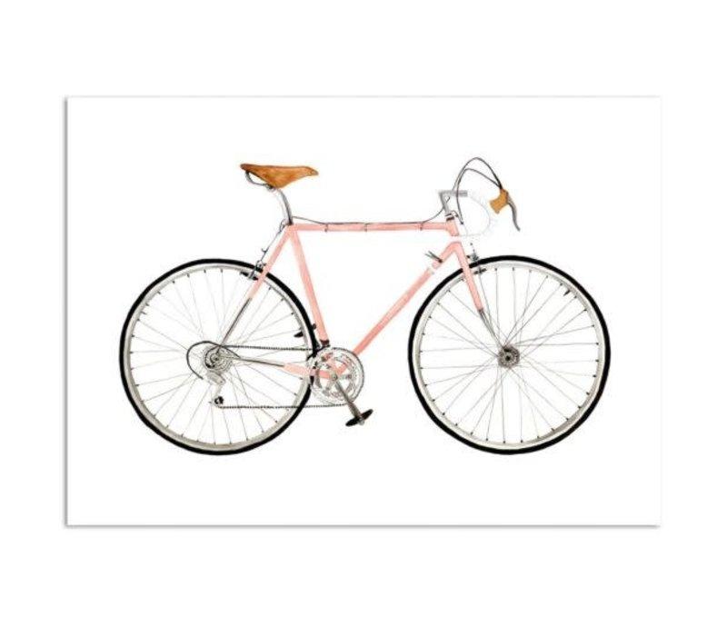 Artprint A4 - Pink Racer
